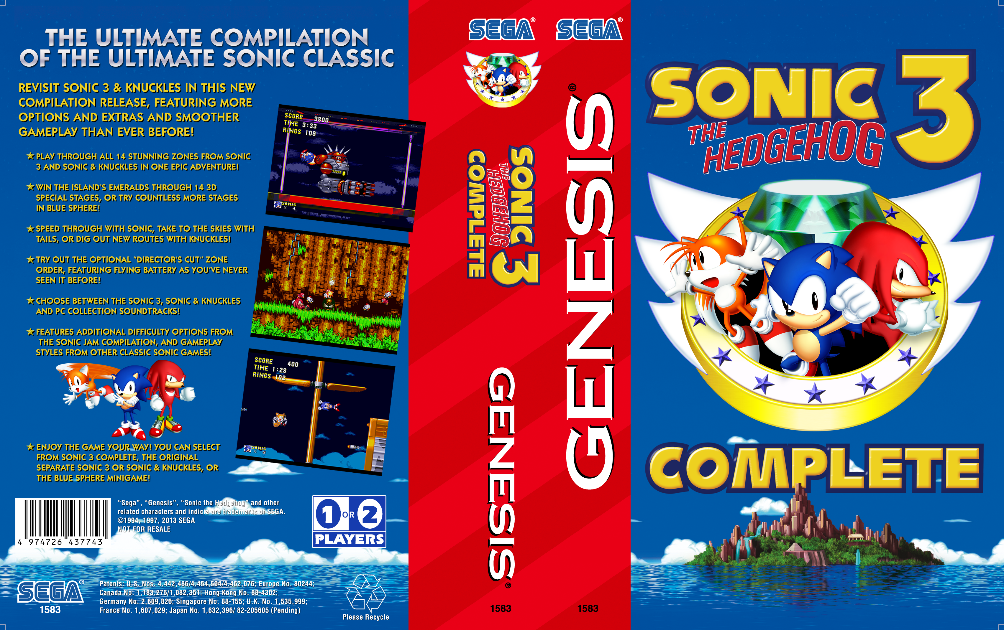 sonic the hedgehog 3 complete apk