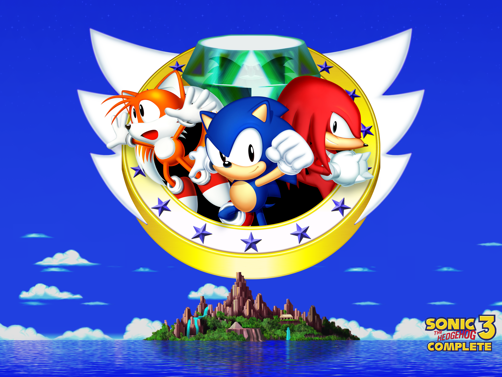 main page sonic 3 complete. Black Bedroom Furniture Sets. Home Design Ideas